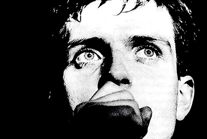 Ian Curtis of Joy Division -  one of the more intense figures in Rock.