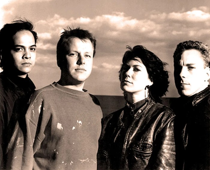 Pixies - overlooked and underrated at the time - but time has a habit of changing things.