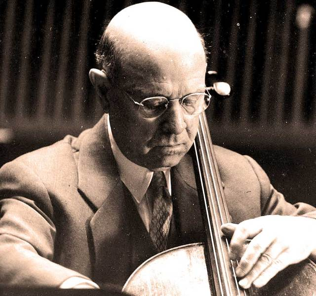 Pablo Casals - One of the world's greatest Cellists.