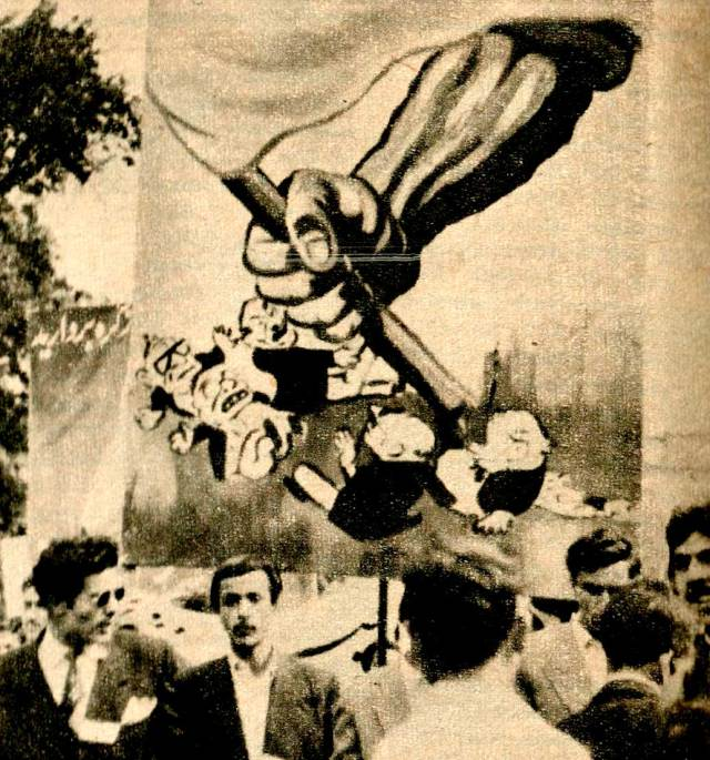 Student demonstrations in Tehran -  At the heart of the matter ; oil.