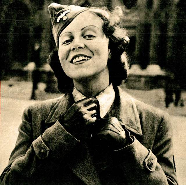 """Berlin - July 1940 - careful to project an image of carefree confidence - despite certain """"tells""""."""