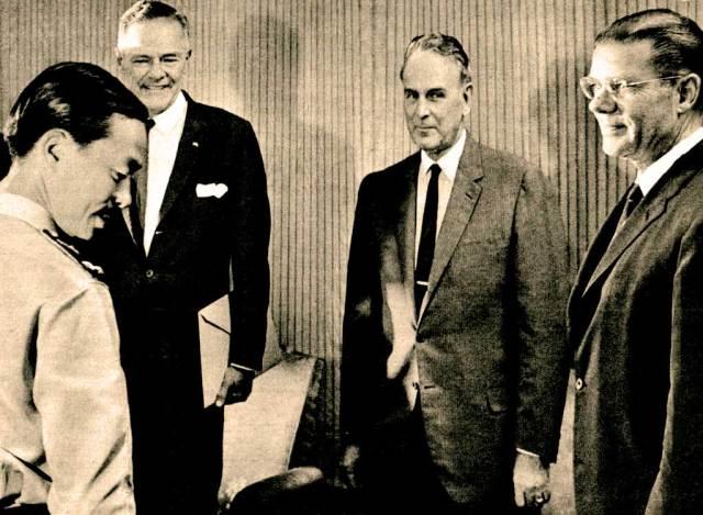 Gen. Ky and Robert McNamara - down the rabbit hole we go.