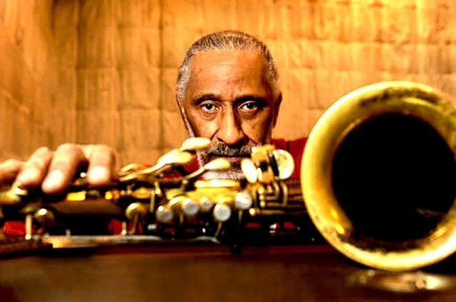 Sonny Rollins -  layin' out the whole deal.