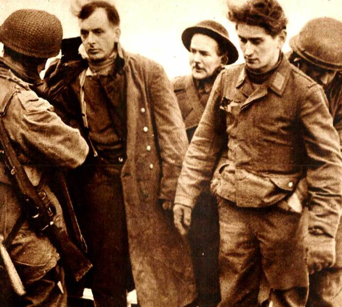 Raid On Dieppe - Taking German Prisoners. Stories were wildly different - the triumph, in the end, was Propaganda and spin.