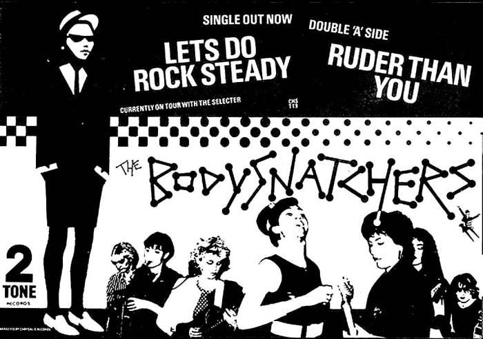 The Bodysnatchers - All-Female Ska.