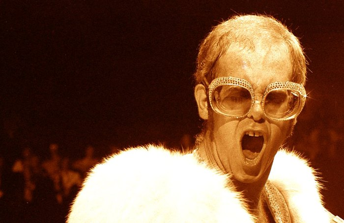 Elton John - turned subtle into anathema.