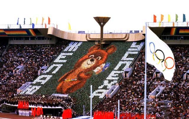 Closing ceremonies - Moscow Olympics 1980 -  Sports as politics.