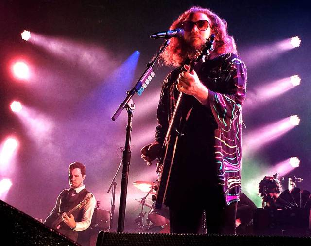 Jim James of My Morning Jacket - tinkered with the name The Electric Mayhem