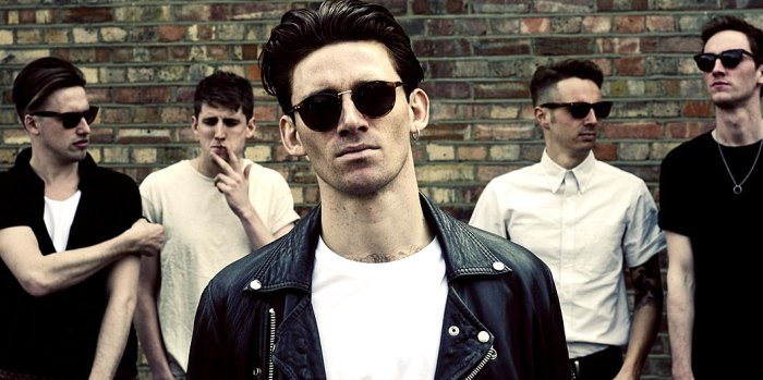 Coasts - with a debut album coming out this month and non-stop touring.