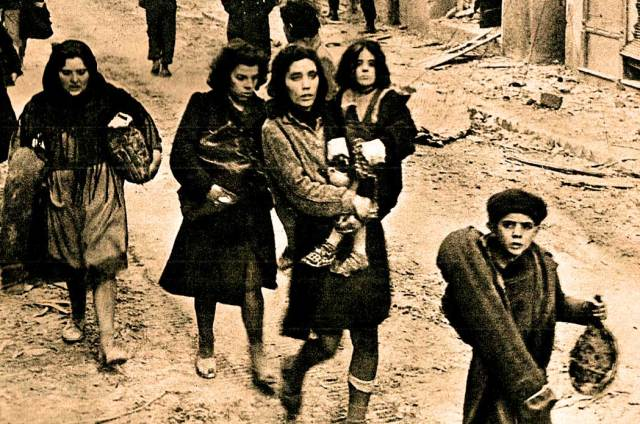 After World War 2 they called them Displaced Persons.
