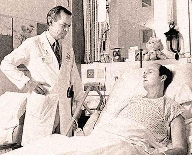 First Artificial Heart Recipient Michael Drummond - so far, so good.