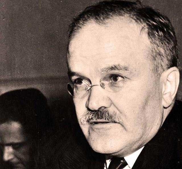 V.M. Molotov - Stalin protègè - Marshall foe.