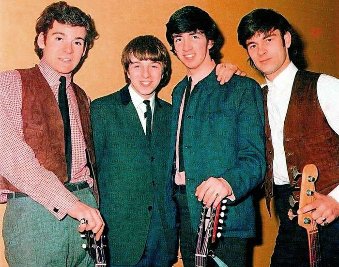 The Merseybeats - loaded with promise.