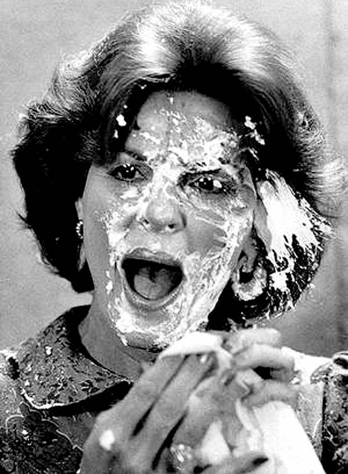 If you don't know who this is - you need to visit us more often. (answer: Anita Bryant - pie incident)