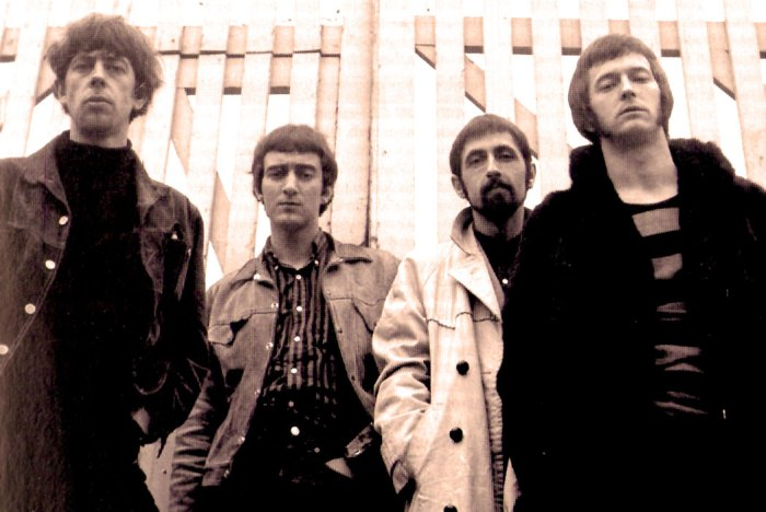 John Mayall's Bluesbreakers - With Eric Clapton (r) - A band that was a jumping-off place for a who's who of musicians.