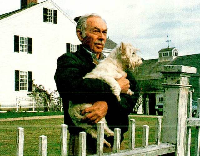 E.B. White - The man who, along with William Strunk gave the world The Elements Of Style, which became a bible for many writers. . . .yours truly included.