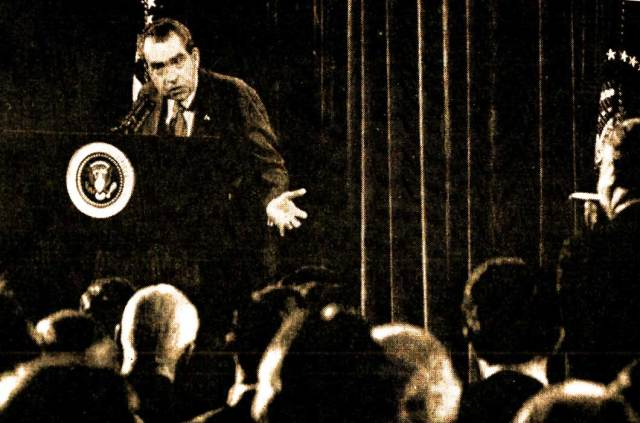 """Nixon - """"People have to know if their President is a crook!"""""""