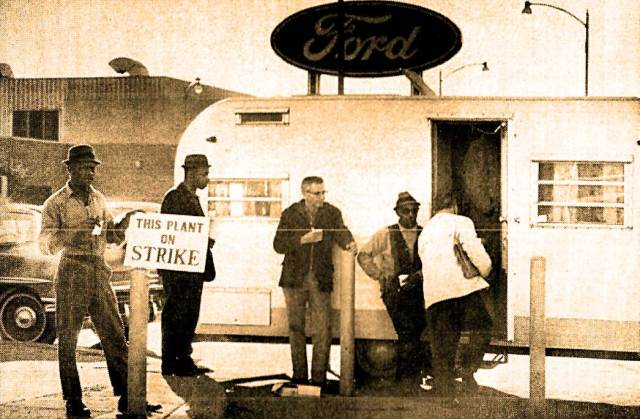 It wouldn't be Detroit without Auto Workers and it wouldn't be Auto Workers without layoffs and strikes - even in 1964.