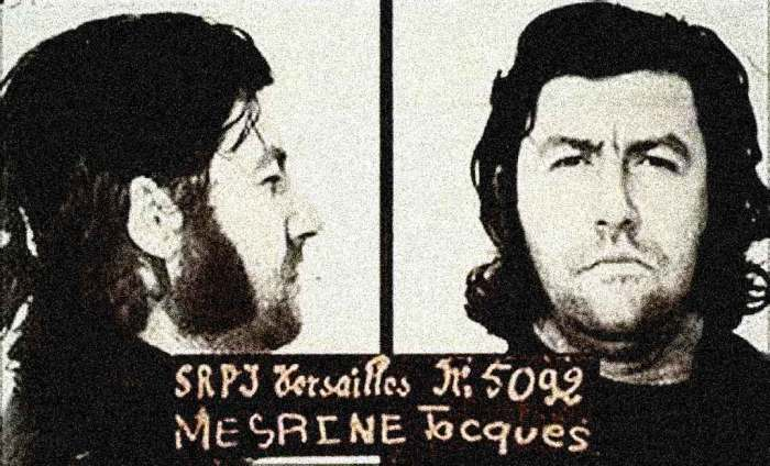 Jacques Mesrine - Public Enemy #1 in France and Quebec. Captured more than a few imaginations.