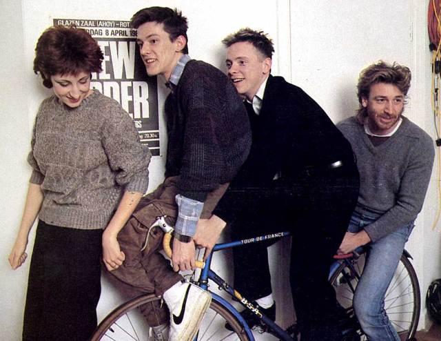 New Order - at Glastonbury 1987
