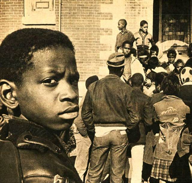 School Desegregation in New Orleans - a hot-button topic in 1960.