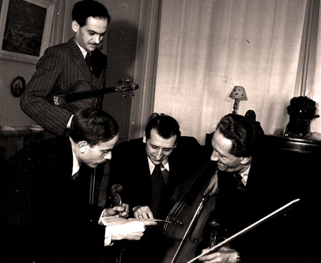 Loewenguth String Quartet - one of the better know Quartets that came out of France from the 1930s to 70s.