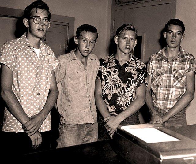 Teenagers in 1956