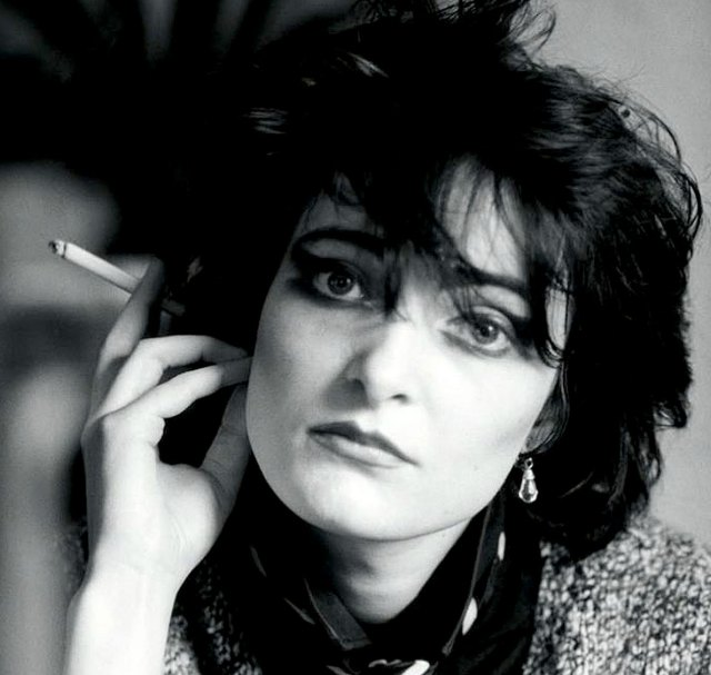 The inimitable Siouxsie.
