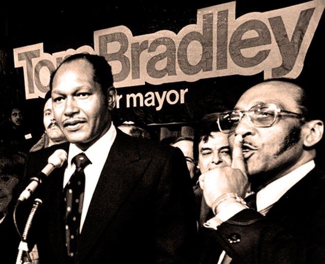 Mayor-elect Tom Bradley 1973