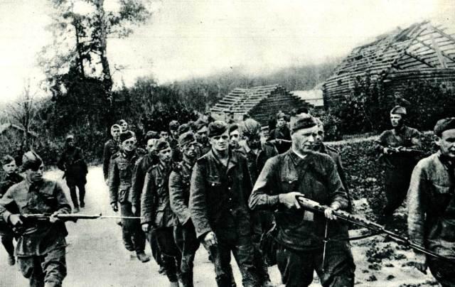 September 1, 1941 - German prisoners in Russia