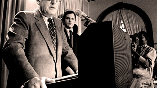 "October 26, 1972 –  Henry Kissinger: ""We Believe. . .That Peace Is At Hand"""