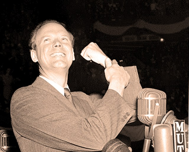 Charles Lindbergh - America First Rally