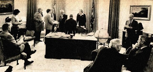 Jimmy Carter - Oval office