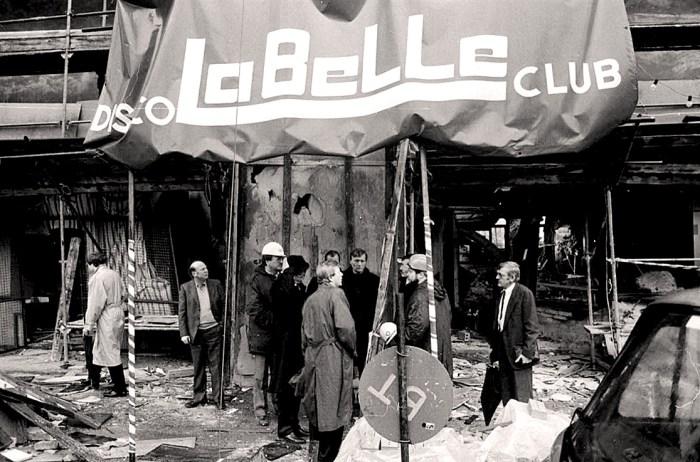Berlin Disco bombing 1986