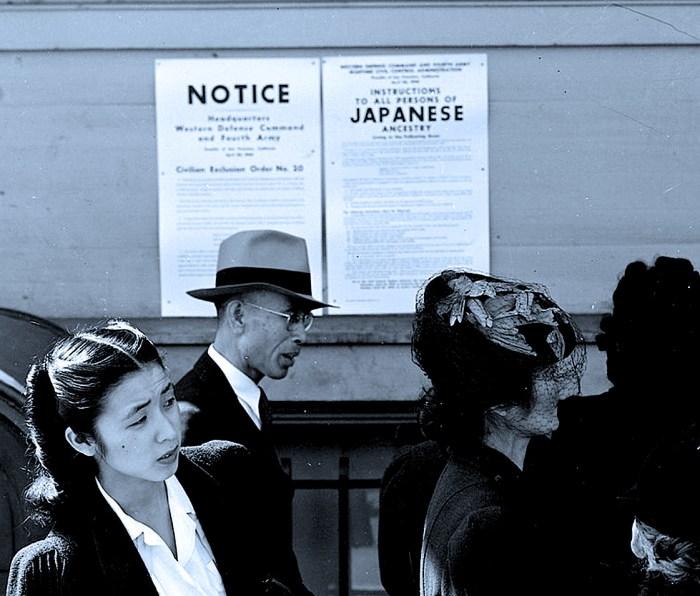 Notice of Internment 1942