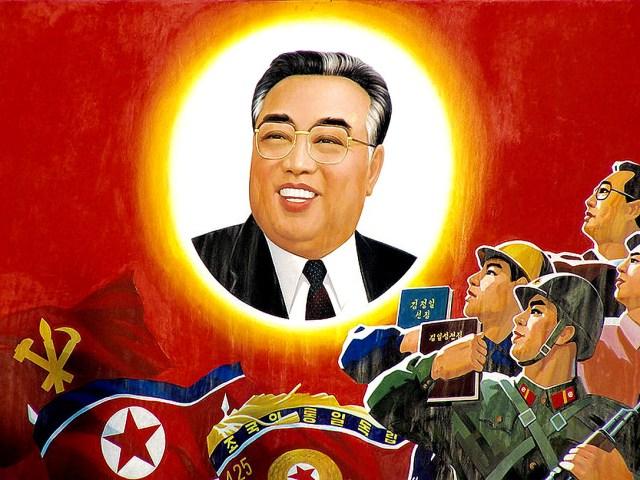 Kim Il Sung of North Korea 1994
