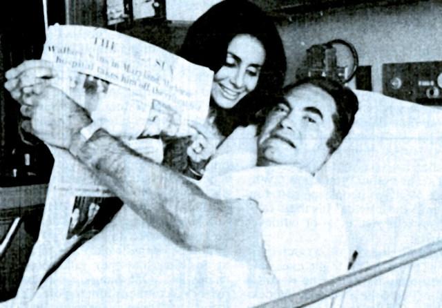 George Wallace - Hospital Prognosis; not good