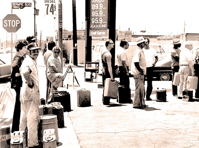 Gas Rationing - the Even day.