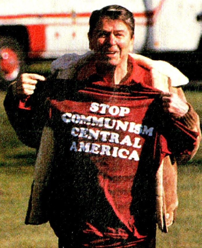 President Reagan - Contra Support t-shirt