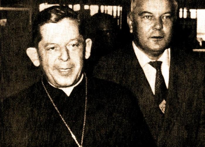 Cardinal Glemp of Poland