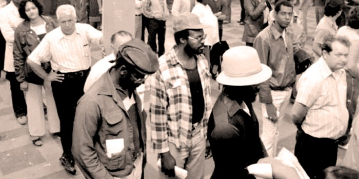 Unemployment figures 1983