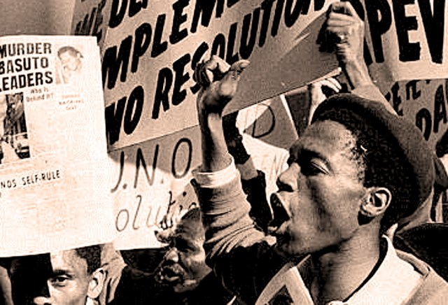 South Africa - Student protests