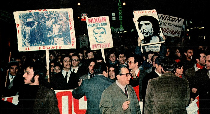 Demonstrations in Rome - 1969