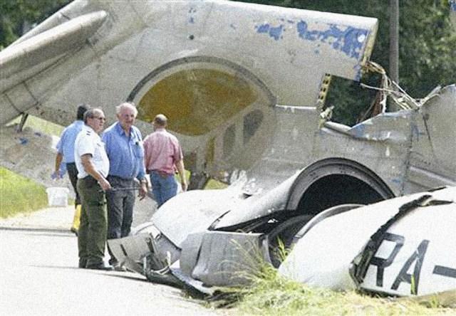 Air Crash site - July 3, 2002