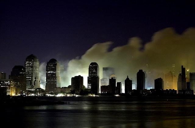 The night of September 11, 2001