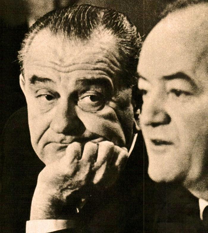 LBJ and HHH - 1964