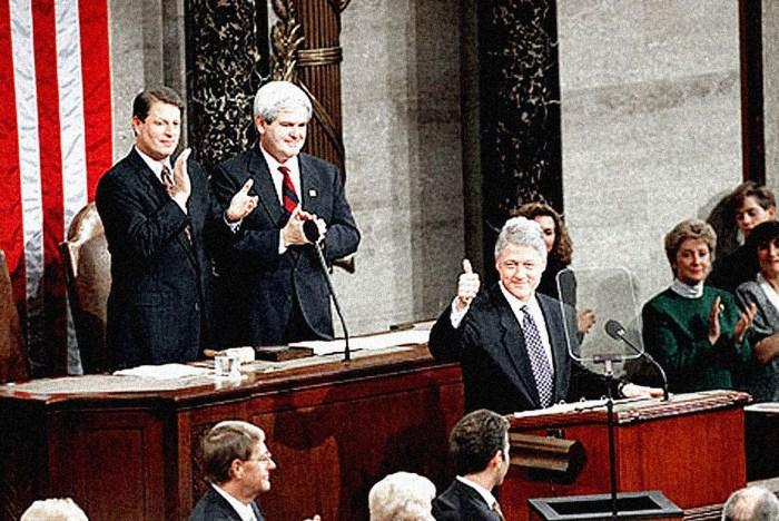 President Clinton 1995 SOTU