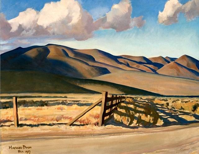 Western Landscape -- Maynard Dixon 1927