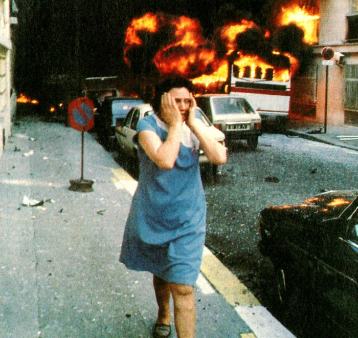 Terrorist bombing in Paris