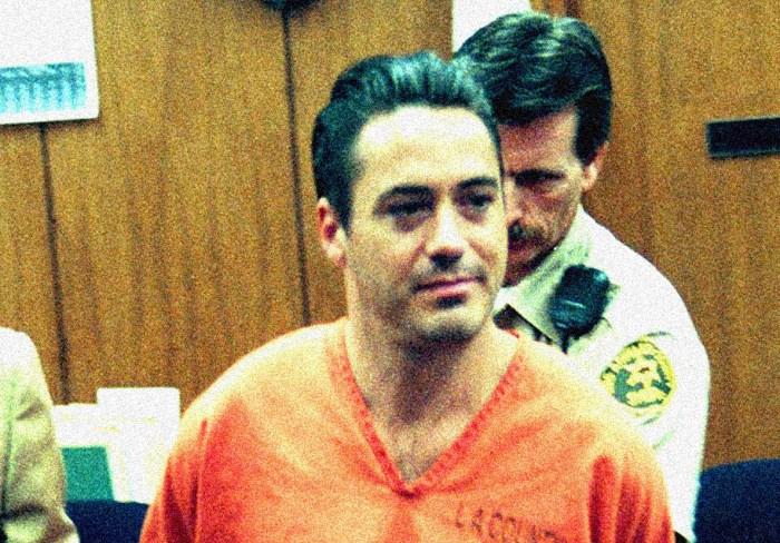 Robert Downey Jr. - August 2000